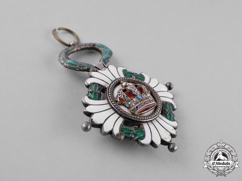 Yugoslavia, Kingdom. An Order of the Yugoslav Crown, 5th Class, Knight