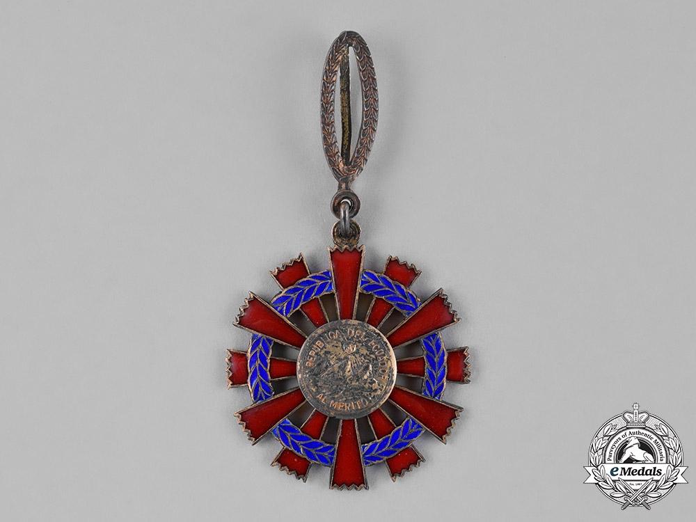 Ecuador, Republic. A National Order of Merit, III Class Commander, c.1940