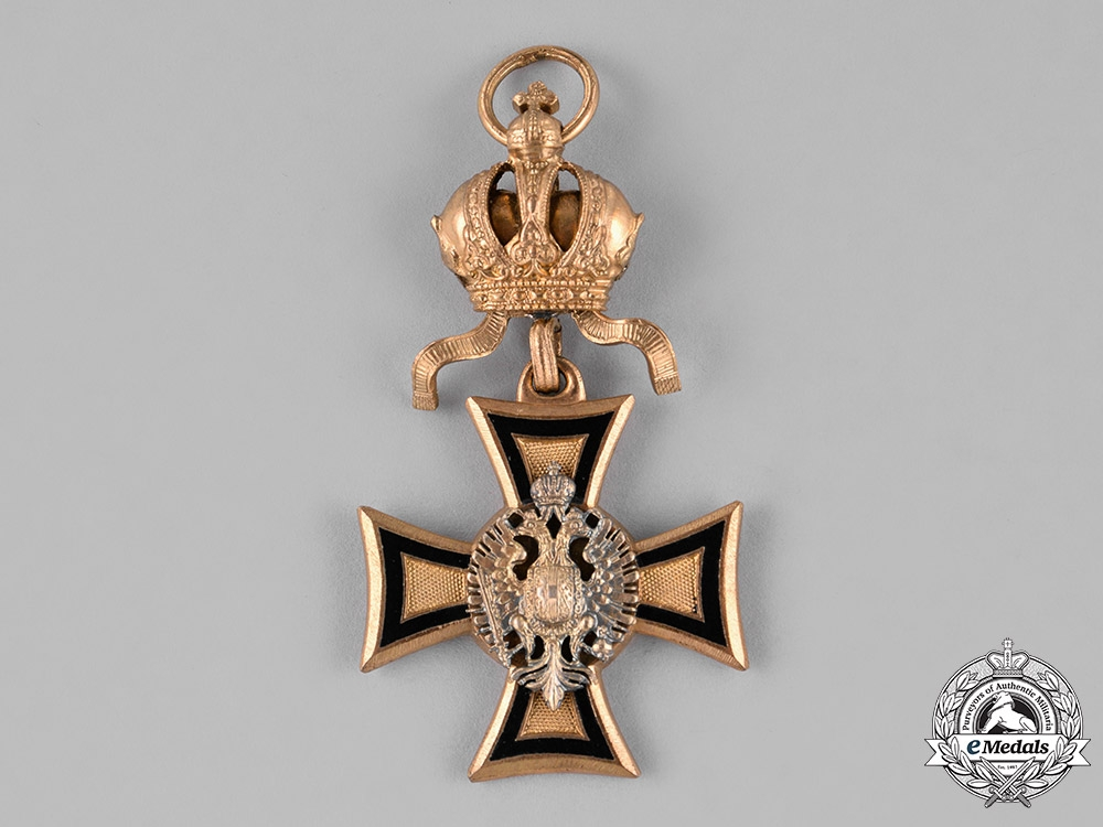 Austria, Imperial. A Fifty Year Long Military Service Cross for Officers, c.1914