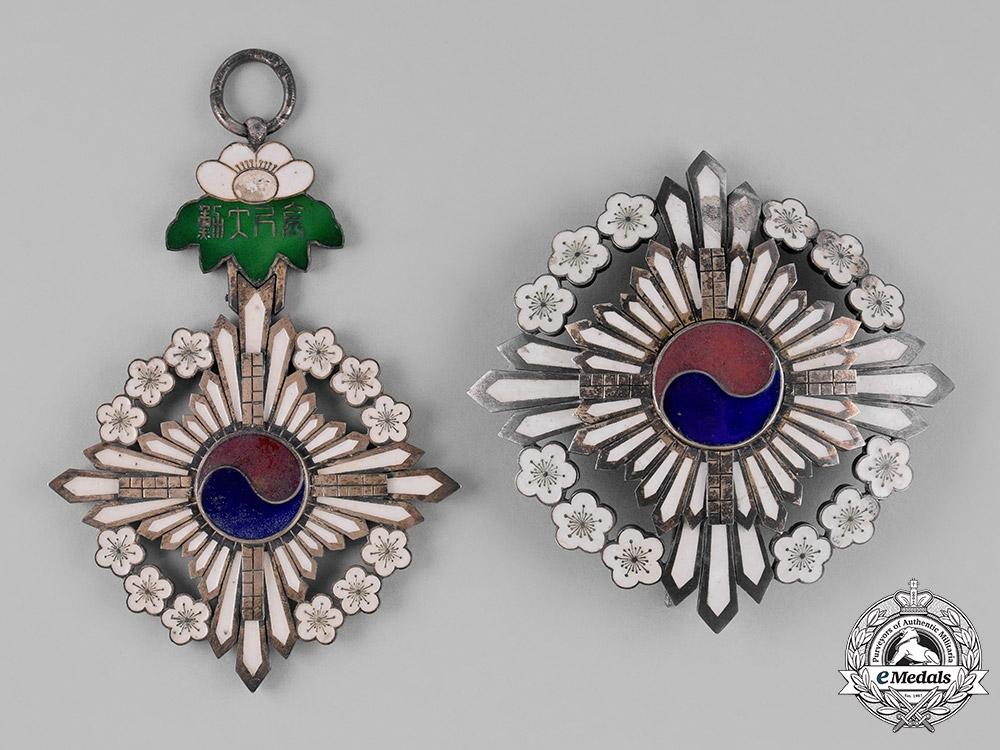 Korea, Yi Dynasty. A Grand Order of the Golden Ruler, I Class Grand Cordon, c.1910