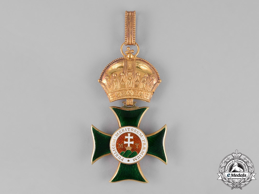 Austria-Hungary, Empire. An Order of St. Stephen in Gold, Grand Cross, by C.F. Rothe