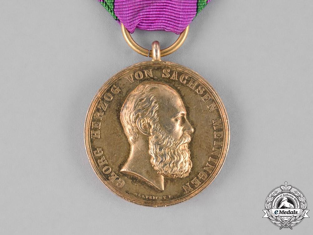 Saxony, Kingdom. A Golden War Merit Medal
