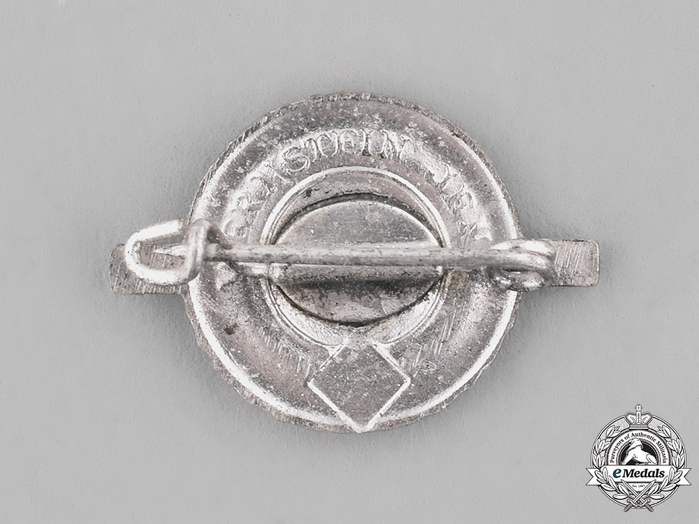 Germany. A Reichs Youth Sport League Proficiency Badge