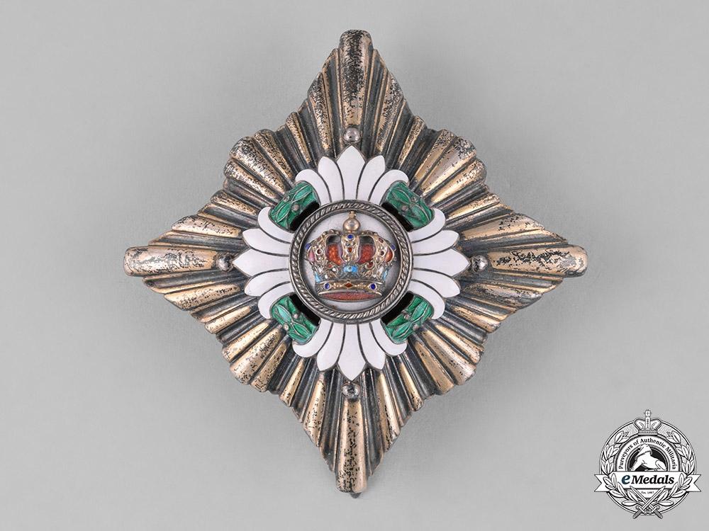 Yugoslavia, Kingdom. An Order of the Crown, II Class, by Sorlini, Varaždin