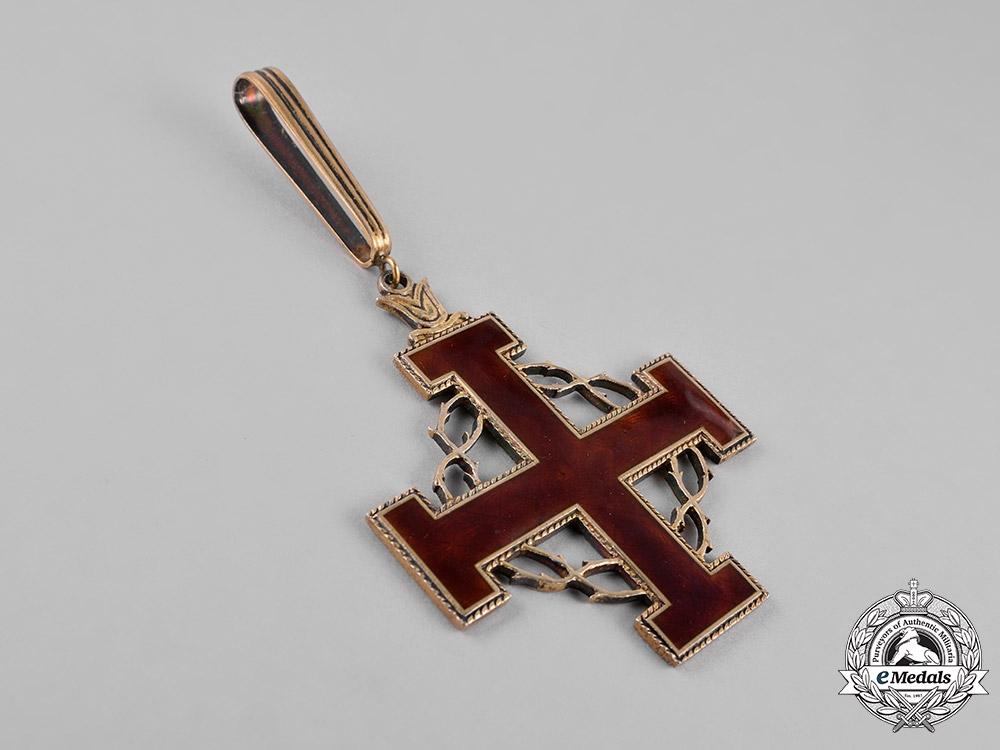 Vatican. An Equestrian Order of the Holy Sepulchre of Jerusalem Cross of Merit, Grand Cross, c.1965