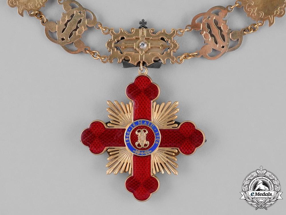 Romania, Kingdom. A Rare Collar of the Order of Carol I