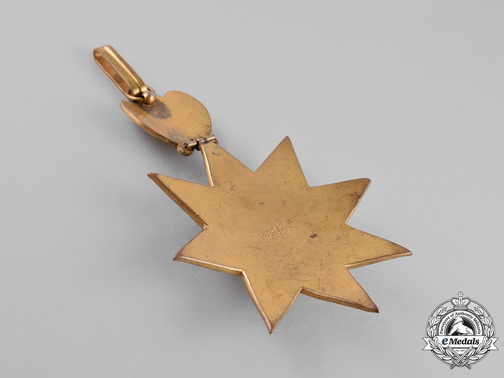 Ethiopia, Empire. An Order of the Star of Ethiopia, II Class, Commander