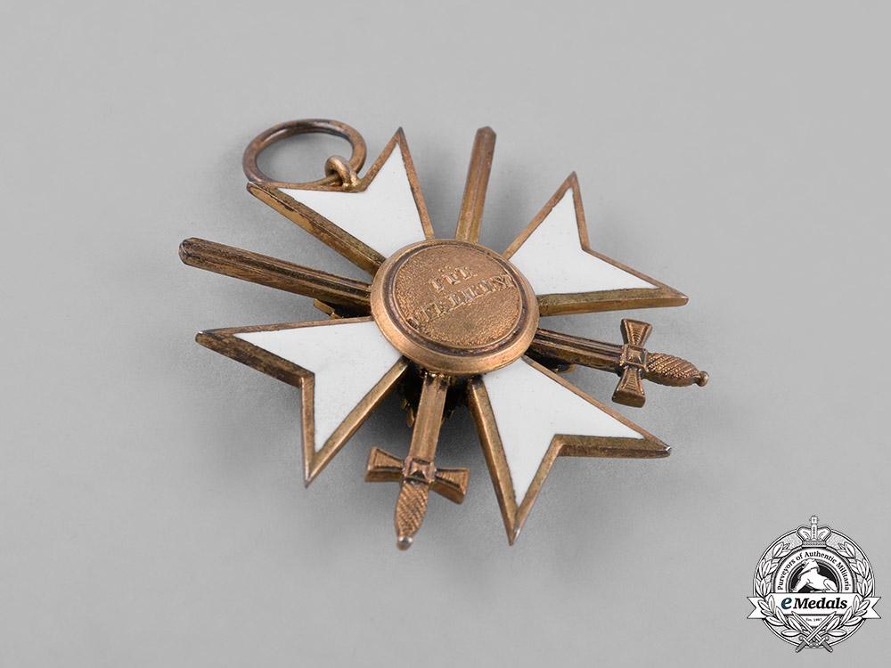 Waldeck, Dukedom. A Merit Cross III Class Knight with Swords, c.1915