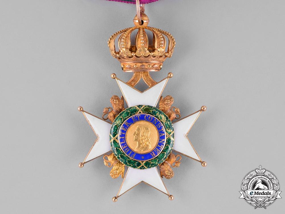Saxe-Gotha/Altenburg Ernestine. An Ernestine House Order in Gold, Commander Cross, c.1900