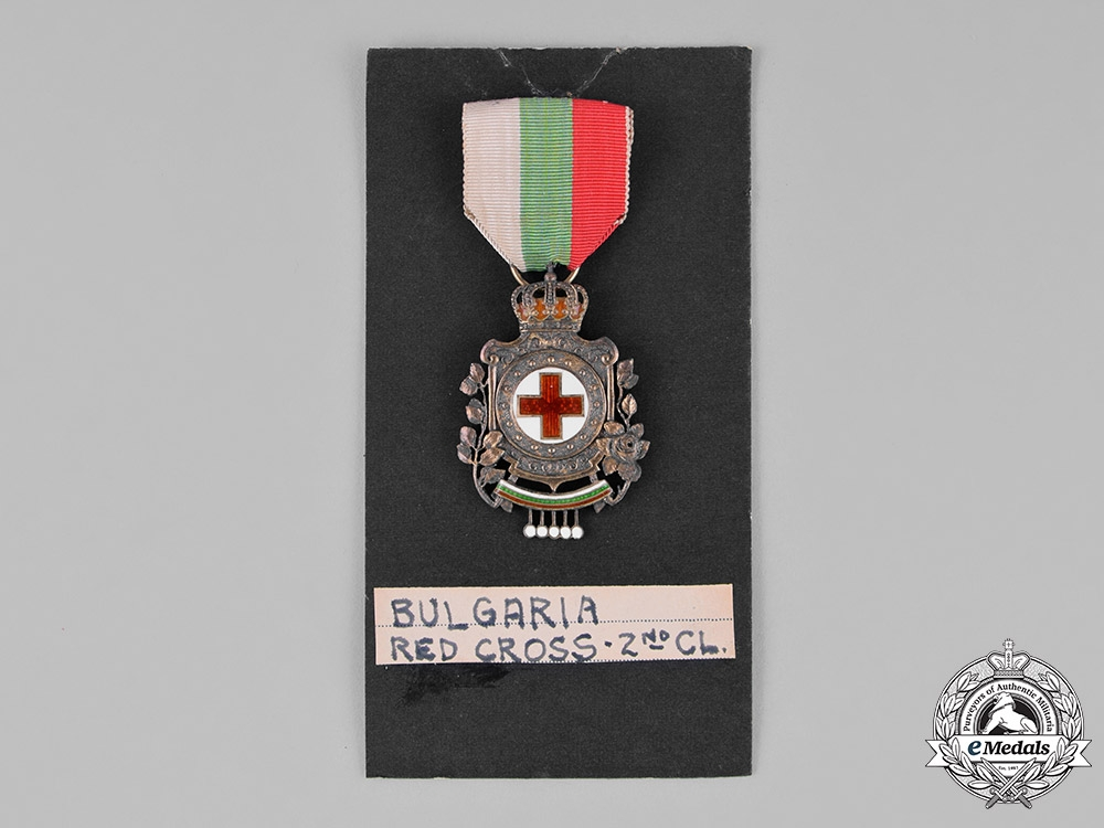 Bulgaria, Kingdom. A German-Made Red Cross Badge, 2nd Class