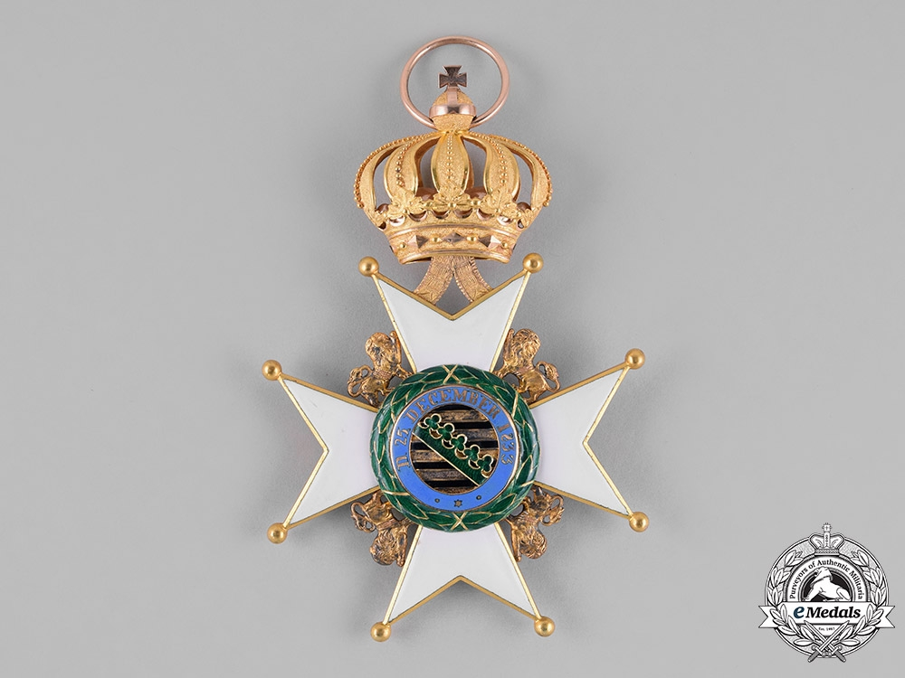 Saxe-Gotha/Altenburg Ernestine. An Ernestine House Order in Gold, Grand Cross, c.1900