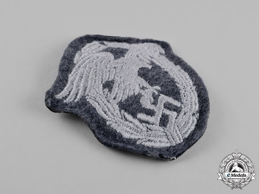 Germany, Luftwaffe. An Observer Badge, Padded Cloth Version