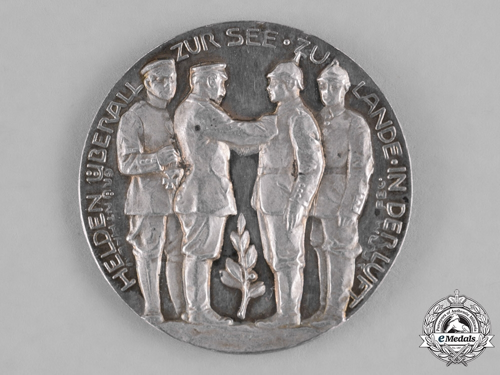 Germany, Imperial. A Silver First War Armed Forces Silver Medal