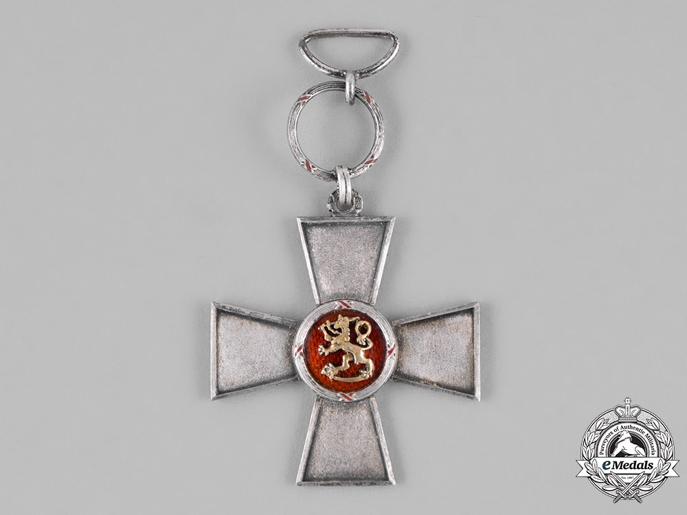 Finland. An Order of the Lion of Finland, Merit Cross