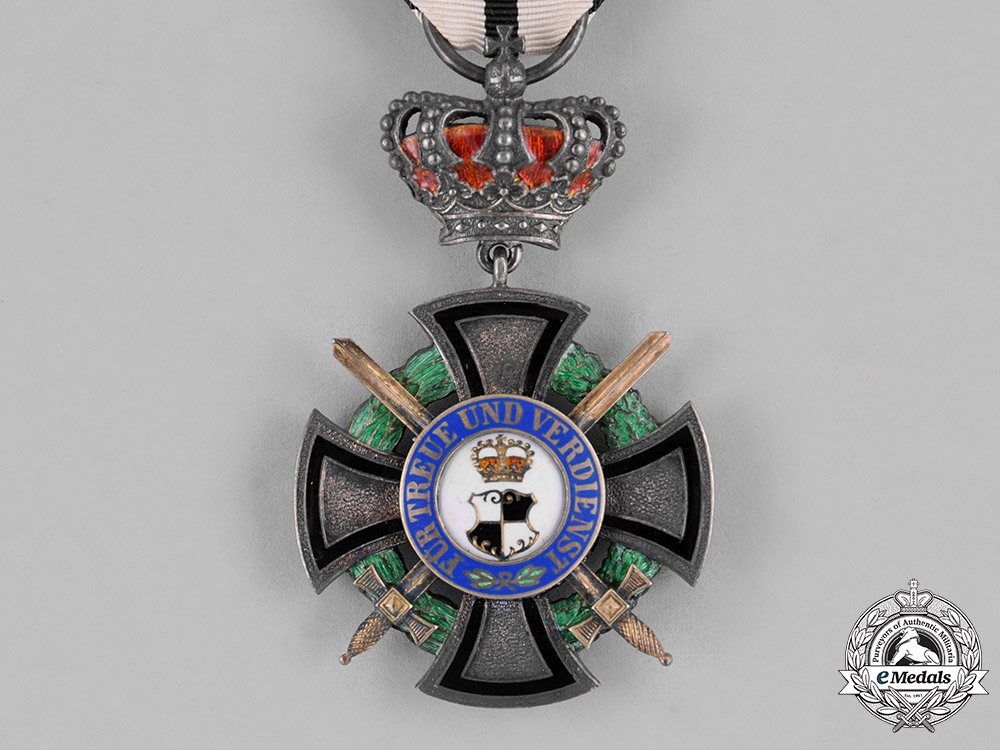 Hohenzollern. A House Order, Honour Cross III Class with Crown and Swords, c.1914