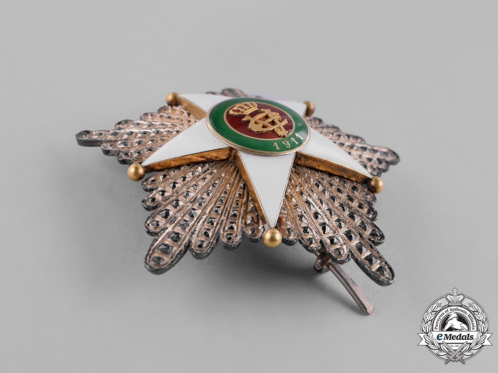 Italy, Kingdom. A Colonial Order of the Star of Italy, Grand Cross Star, by D.Cravanzola, c. 1930
