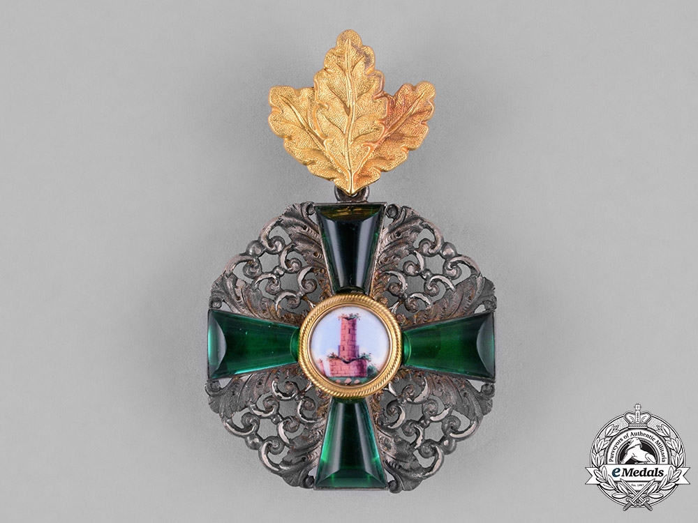 Baden. An Order of the Zähringer Lion, Second Class Knight, with Oak Leaves, c.1910