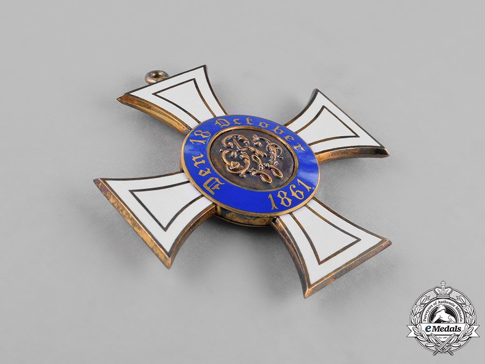 Prussia, State. A Royal Order of the Crown in Gold, First Class, c.1910
