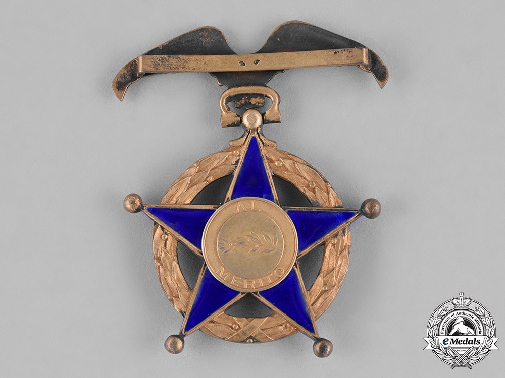 Chile, Republic. An Order of Merit, Officer's Cross, c.1950