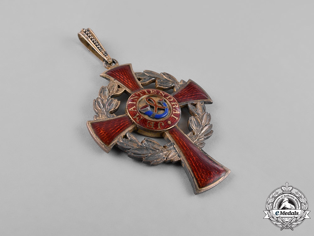 Netherlands, Kingdom. An Order of the House of Orange, II Class Commander, c.1950