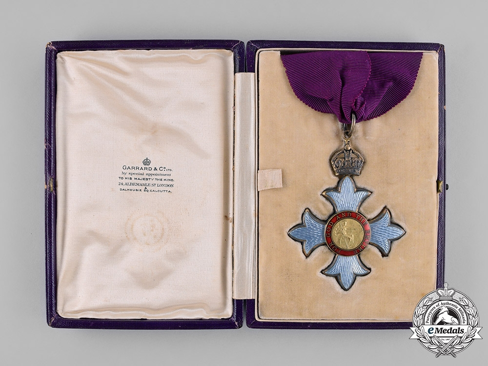 United Kingdom. An Order of the British Empire, C.B.E., Commander, by Garrard & Co., c.1918