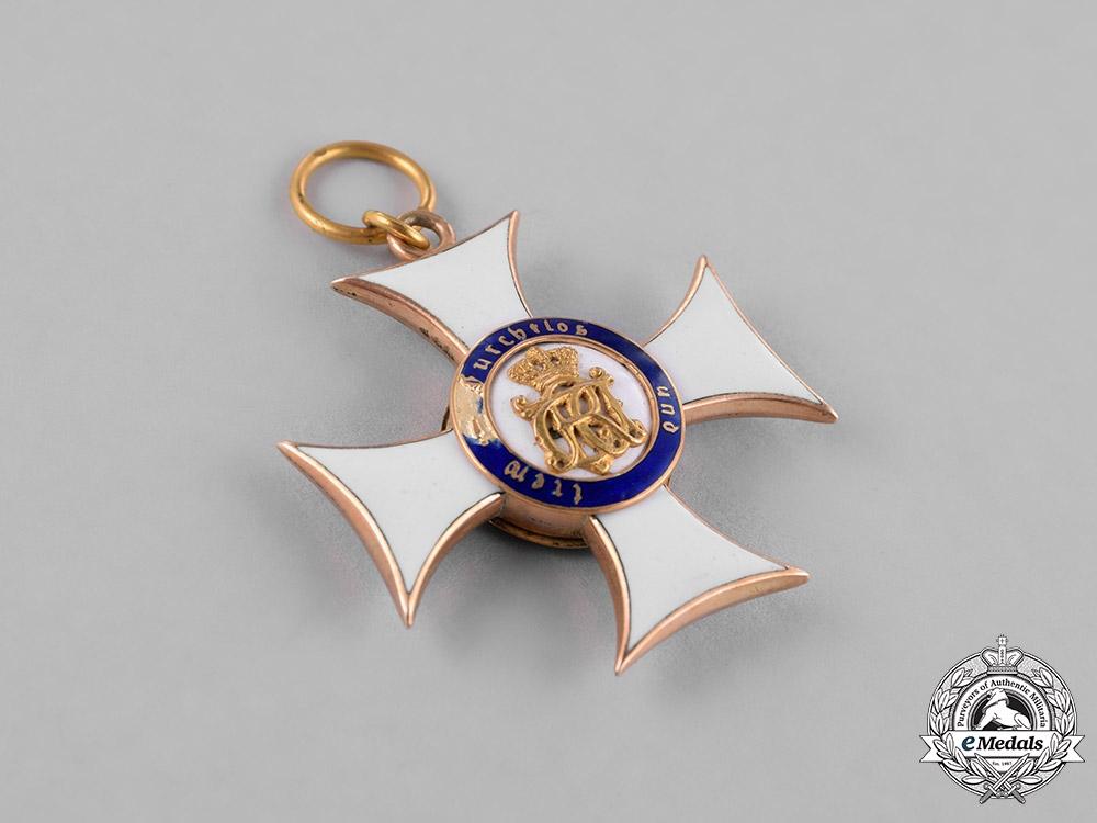 Württemberg, Kingdom. A Military Merit Order in Gold, Knight's Cross, c.1914