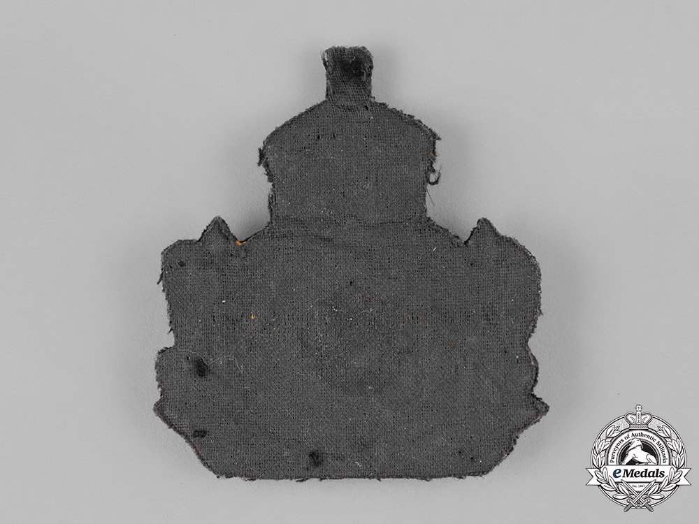 Germany, Imperial. An Imperial German Navy (Kaiserliche Marine) Officers' Cap Insignia