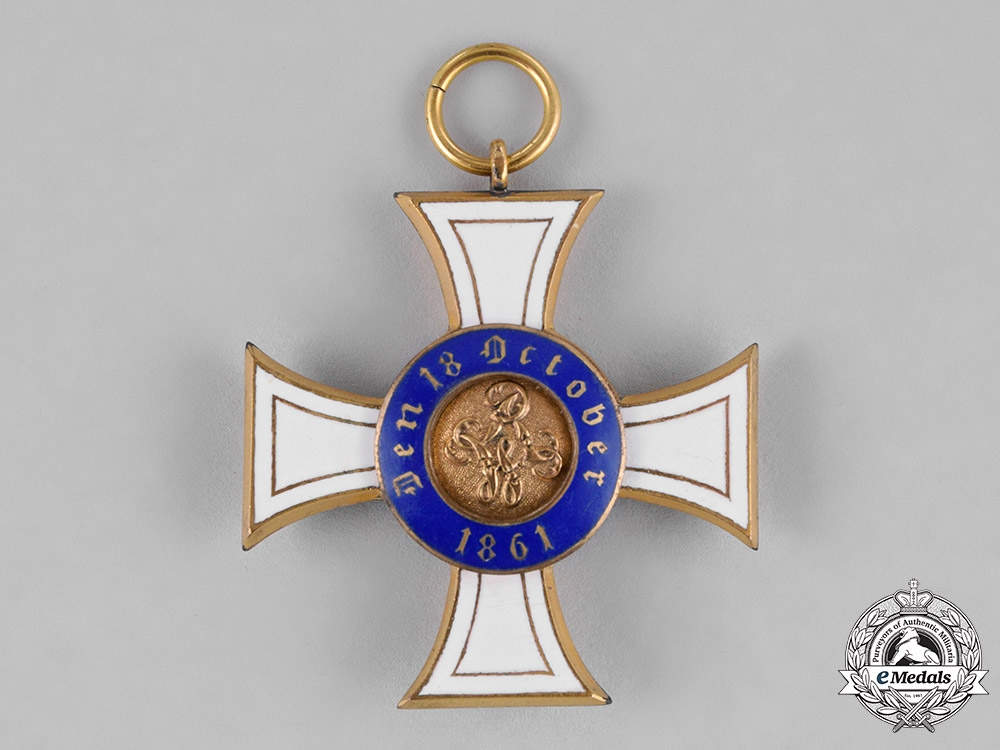 Prussia, State. A Royal Order of the Crown, III Class, c.1915