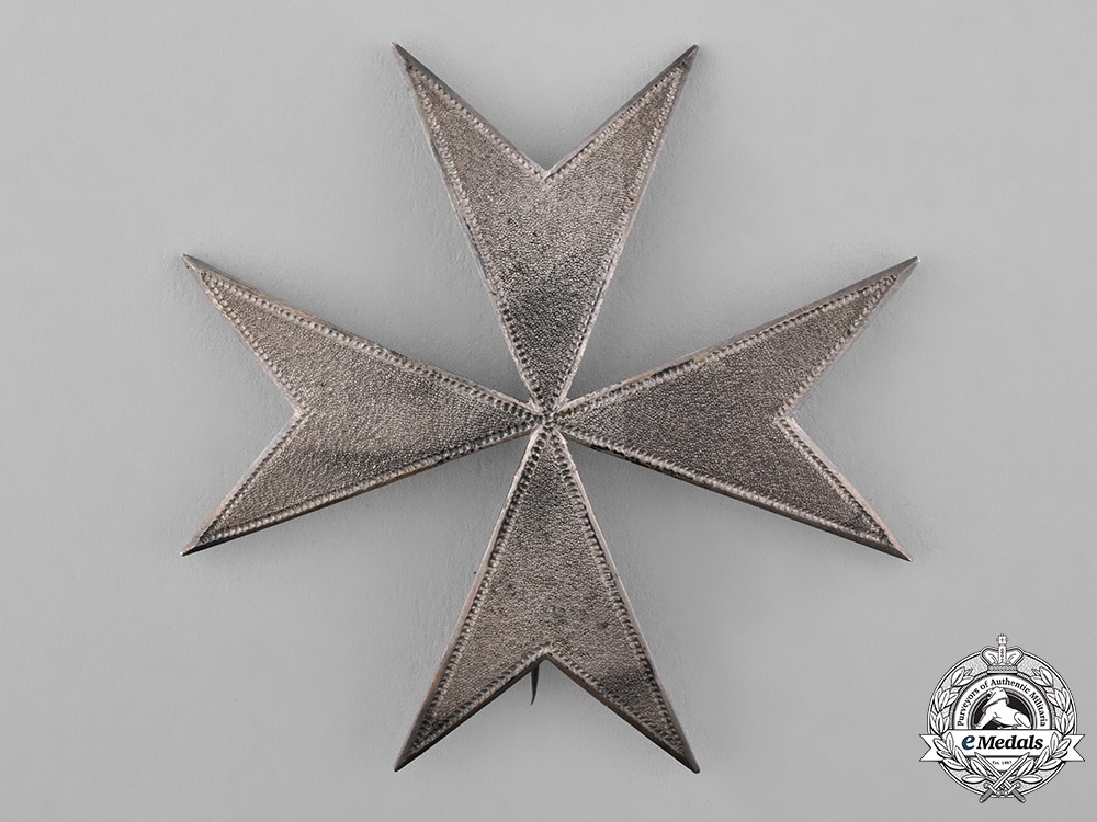 Prussia, Kingdom. An Order of St. John, Officer's Breast Star, c.1880