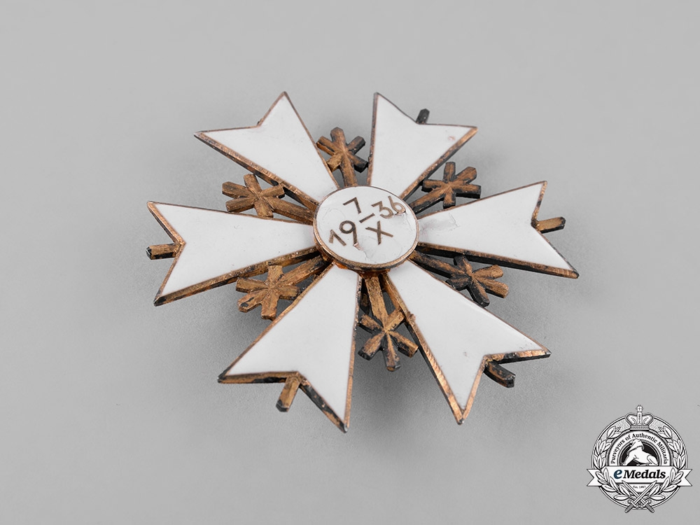 Estonia. An Order of the White Star, Second Class Commander's Badge
