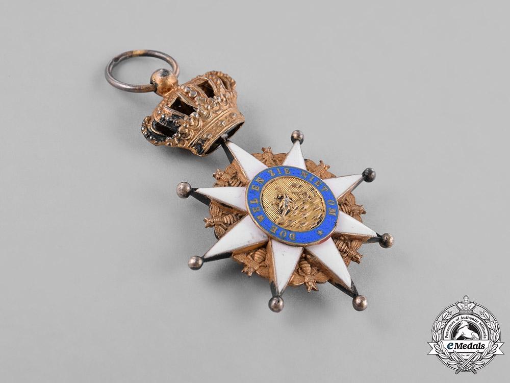 Netherlands, Kingdom. A Royal Order of Holland, Knight's Badge, c.1880
