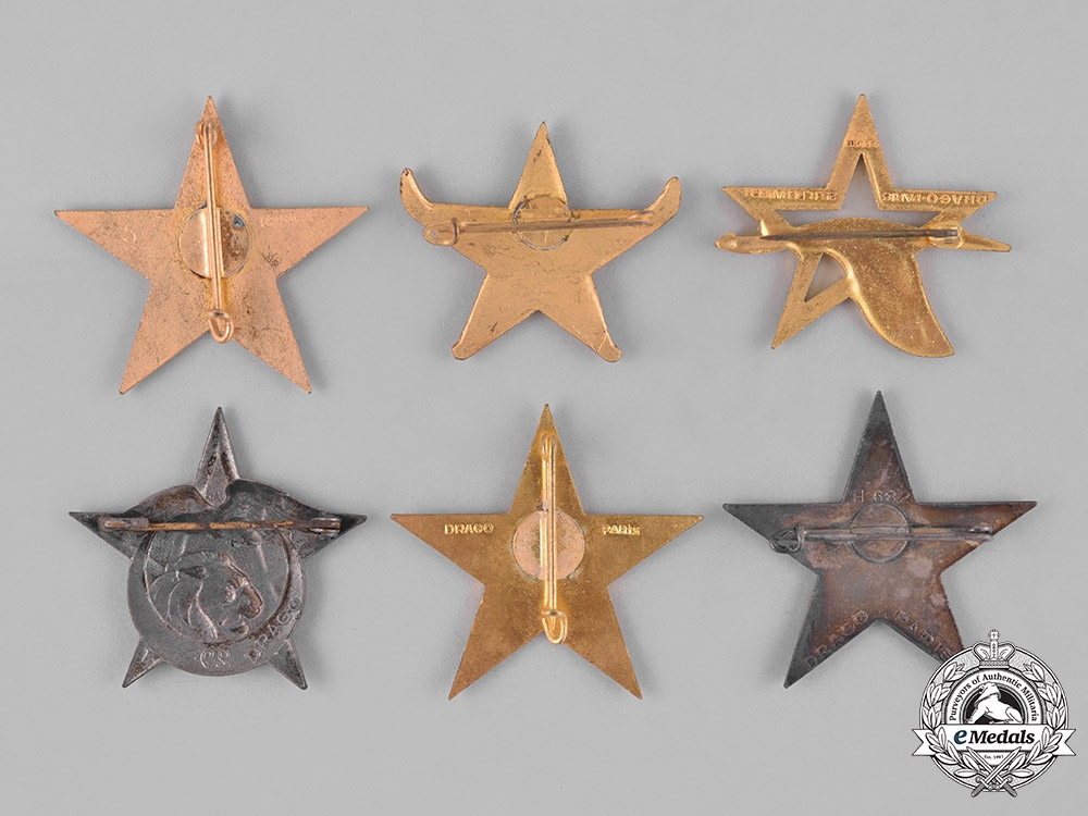 France, Republic. Sixteen French Overseas Military Insignia Badges