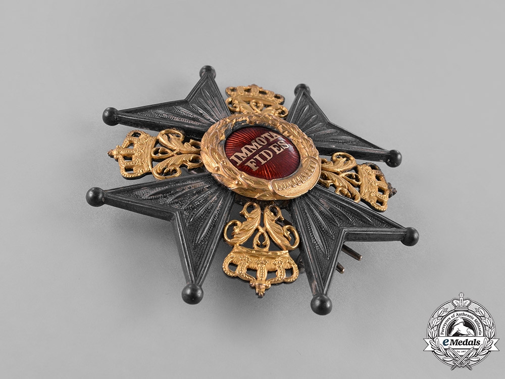 Braunschweig, Dukedom. A House Order of Henry the Lion, Grand Commander, by F.Siebrecht, c.1910