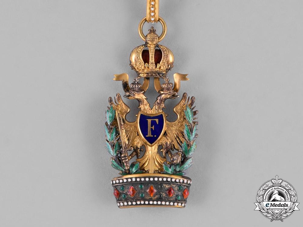 Austria, Empire. An Order of the Iron Crown, III. Class, with War Decoration, by A.E. Köchert, c.1915