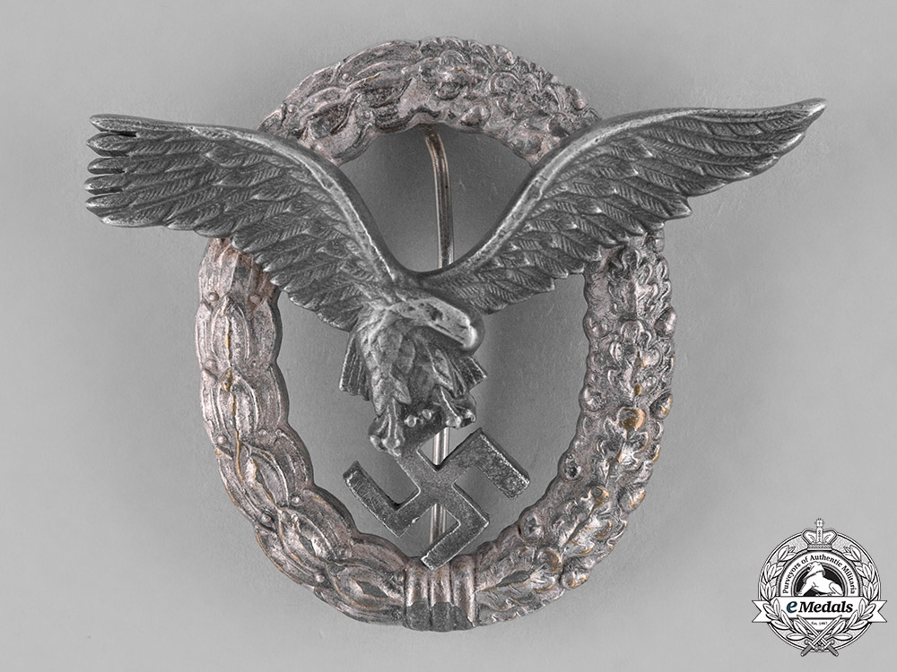 Germany, Luftwaffe. A Pilot's Badge, by FLL