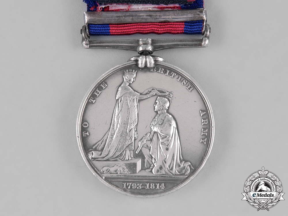 United Kingdom. A Military General Service Medal to the 3rd York Militia, Fort Detroit