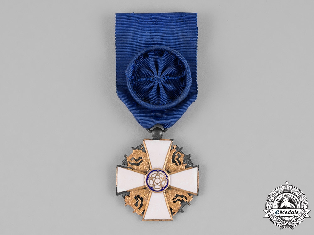 Finland. An Order of the White Rose, I Class Officer, c.1935