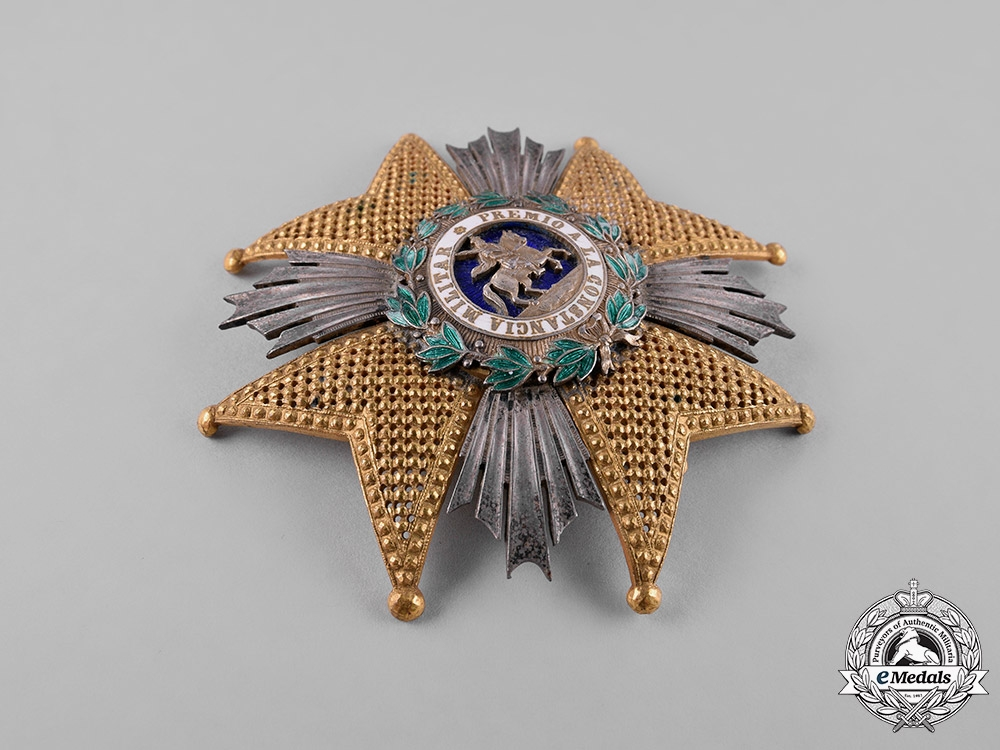 Spain, Kingdom. A Military Order of St. Hermenegild, Commander, by Castells, c.1870