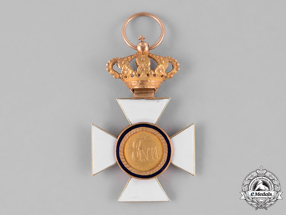 Spain, Kingdom. A Military Order of St. Hermenegild in Gold, Knight, c.1850