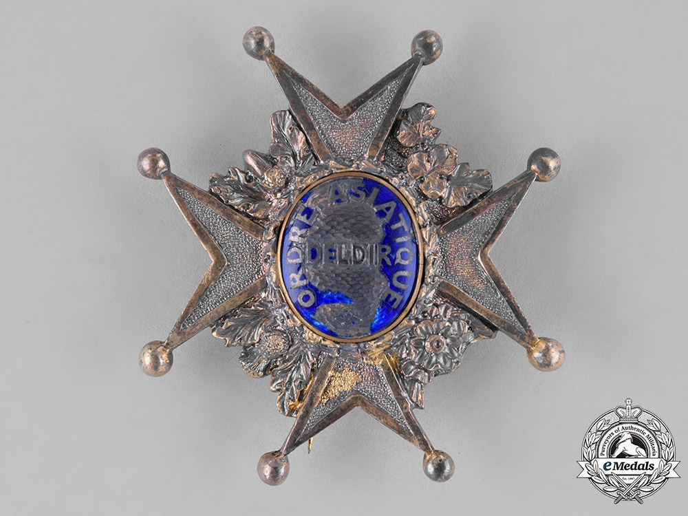 France, Second Republic. A Literary Society's Indian Moghul Empire Order, Grand Cross, by Garrard, c.1845