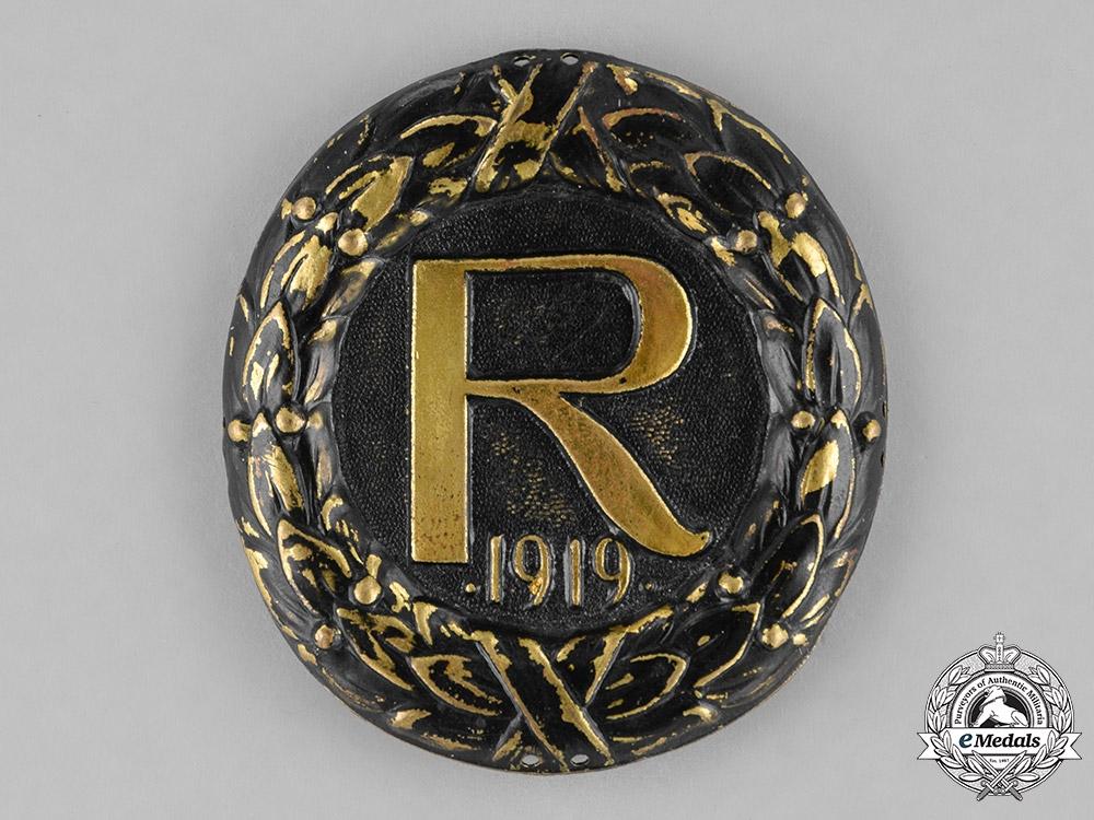 Germany, Weimar. A Stahlhelm Reinhard Brigade Cap Badge