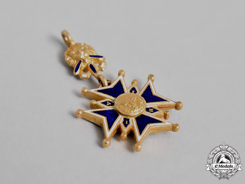 Bavaria, Kingdom. An Order of St.George in Gold, Miniature, c.1890