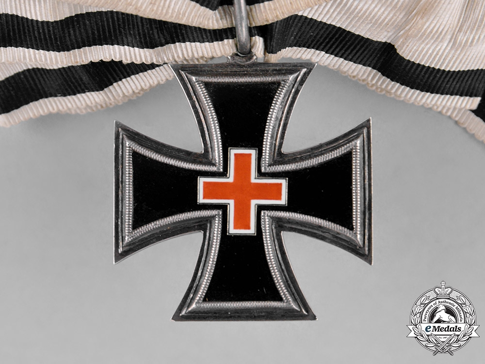 Prussia, State. An Honour Cross for Ladies & Young Ladies with Onyx Core, by Wagner, c.1880
