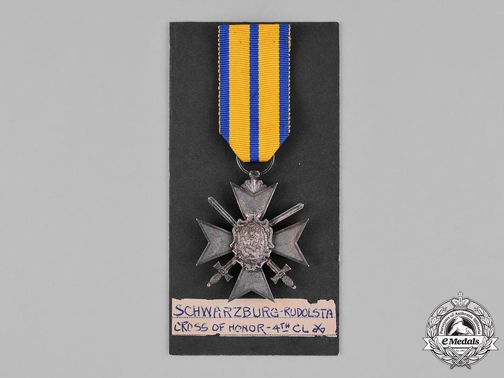 Schwarzburg-Rudolstadt. A IV Class Honour Cross with Swords, c.1915
