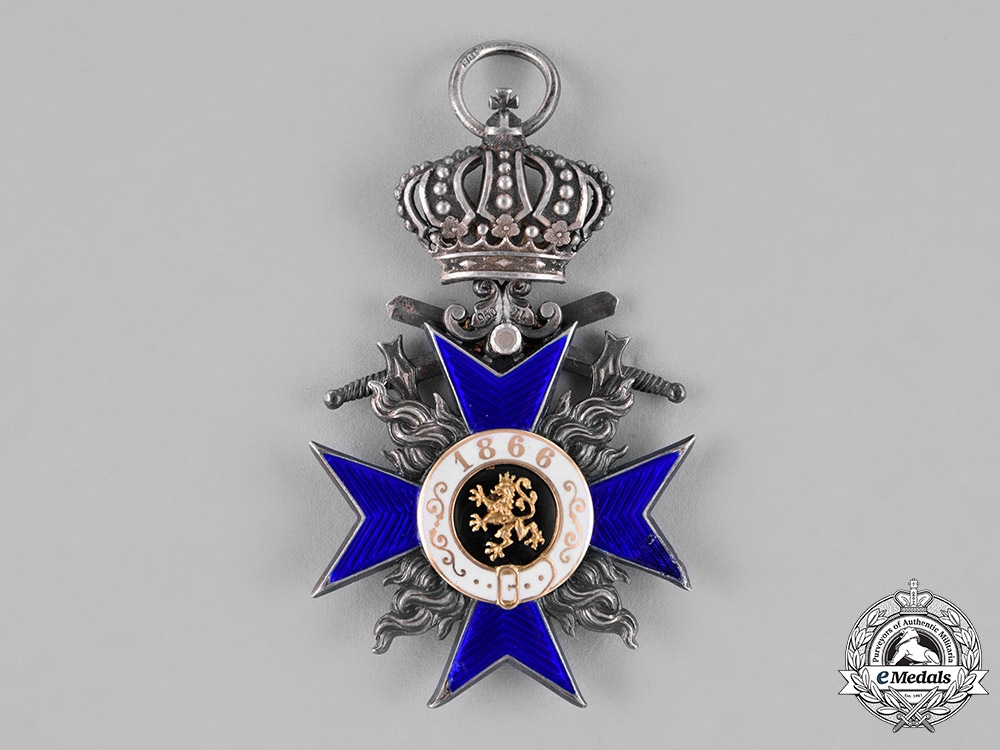 Bavaria, Kingdom. A Military Merit Cross, IV Class with Crown and Swords, c.1914