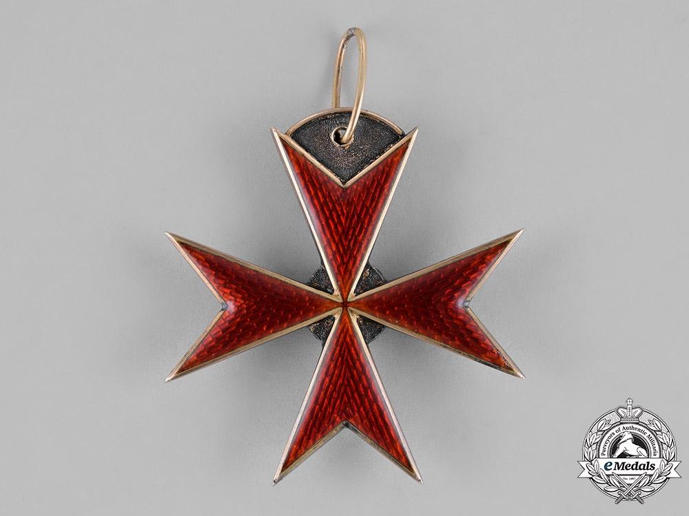 Mecklenburg-Schwerin, Duchy. An Order of the Griffin, Commander's Cross, c.1910