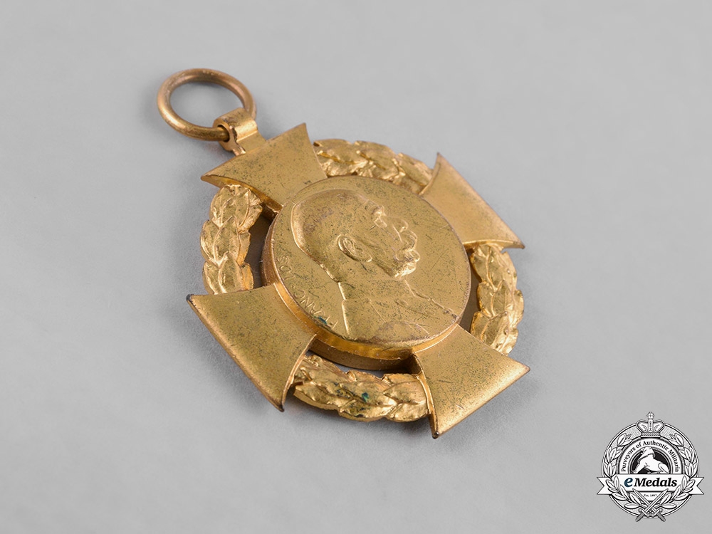 Austria and Bavaria, Kingdoms. A Pair of Commemorative Medals