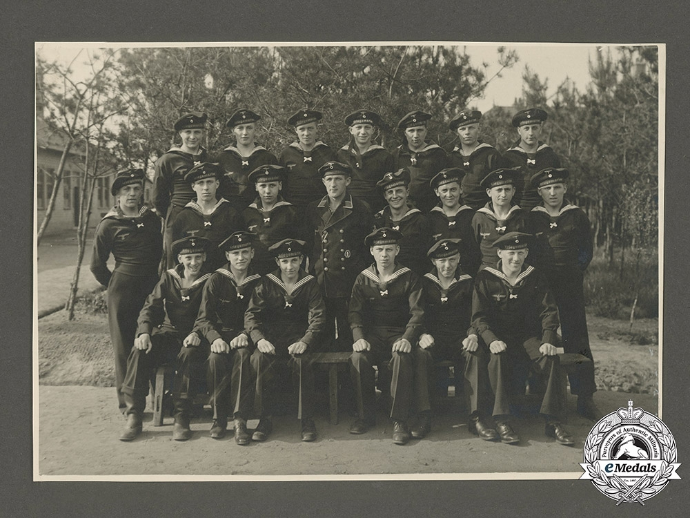 Germany, Kriegsmarine. A Private Wartime Photo Album Of U-Boat Hunter Radio Operator Obergefreiter Hans Hüllmann