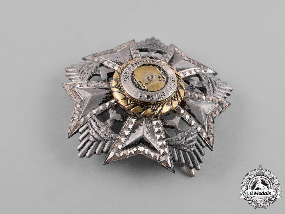 Lebanon, Republic. A National Order of the Cedar, Grand Officer, c.1940