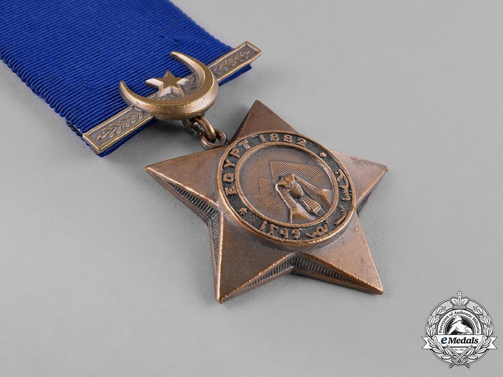 Great Britain. Khedive's Star 1882-1891